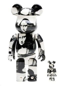 Andy Warhol Bearbrick 400% Companion (Warhol Mona Lisa BE@RBRICK)
