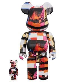 Andy Warhol Last Supper Bearbrick 400% Companion (Warhol BE@RBRICK 400%)