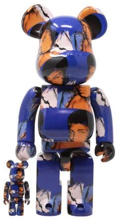 Andy Warhol Muhammad Ali Bearbrick 400% (Warhol Brillo Be@rbrick)