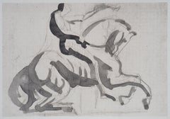 Horseman - Etching, 1897