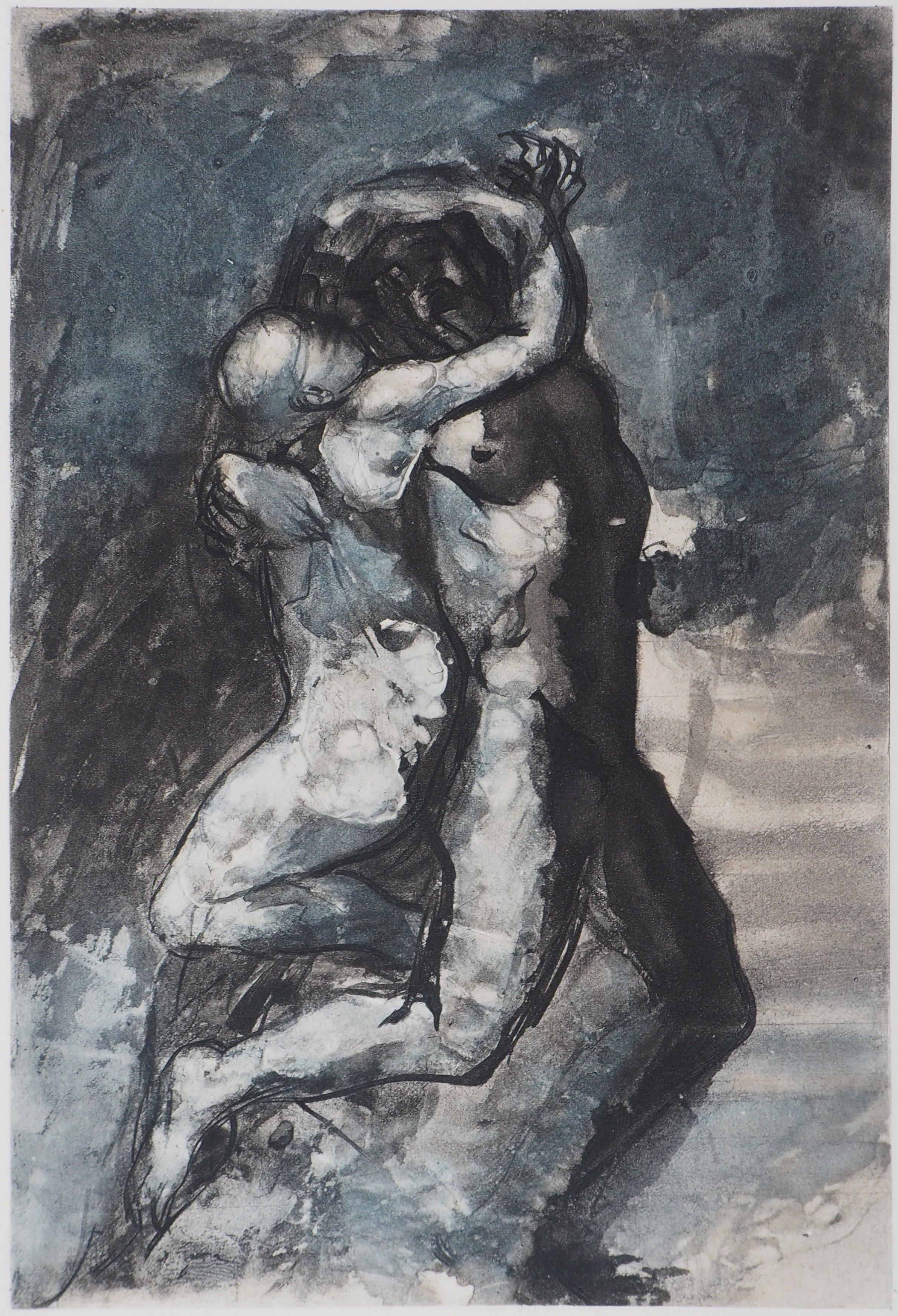 Lovers - Etching, 1897
