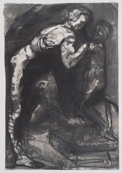 Michel-Ange - Etching, 1897