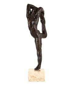 Dance Movement A - Bronze cast Sculpture edition of 11 modern figure