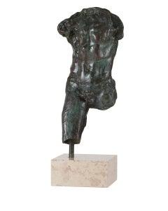 Study for Walking Man - Bronze cast Sculpture edition of 11 modern figure