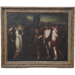 """After """"Pylades and Orestes Brought as Victims Before Iphigenia"""" History Painting"""