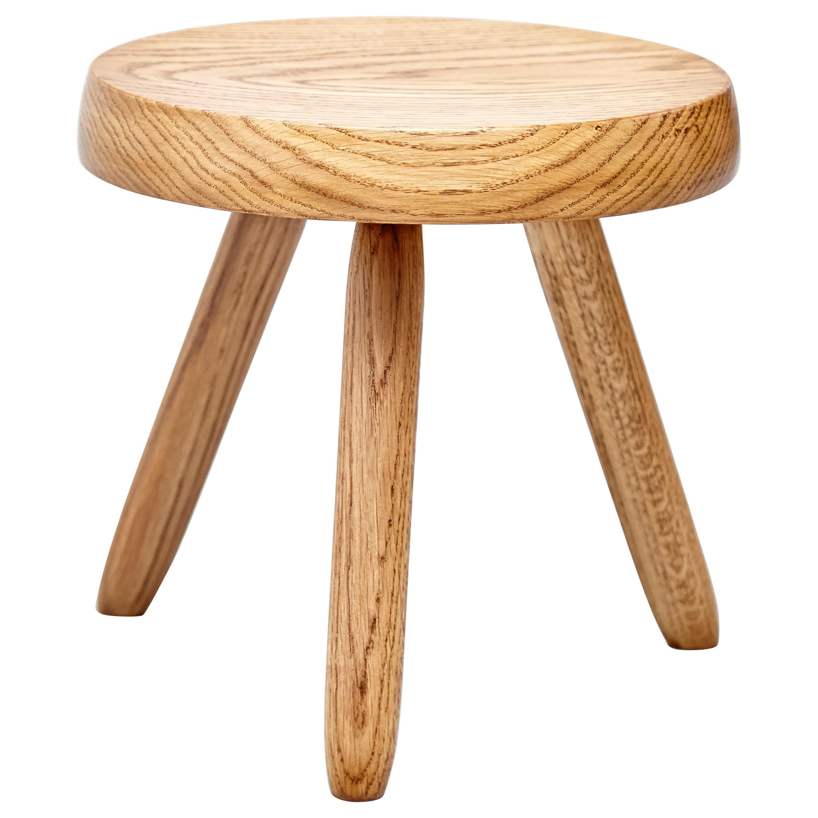 Stupendous After Charlotte Perriand Mid Century Modern Wood Stool Camellatalisay Diy Chair Ideas Camellatalisaycom