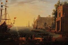 Port with Villa Medici