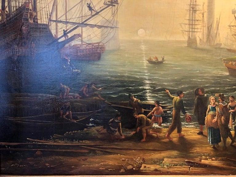 Canvas After Claude Lorraine For Sale
