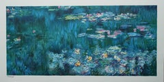 The Nymphs in Giverny - Lithograph - 300 copies