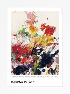 Untitled (Turner, Monet, Twombly Later Paintings), 2011 Poster Oversized Large