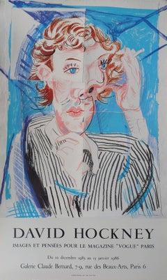 Cubist Portrait : Vogue - Original Vintage Poster (1985)