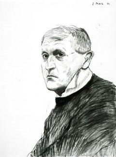 Self-Portrait, March 2 (2) - Framed Print - David Hockney