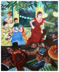 Mid Century Study of Café-Concert at Les Ambassadeurs