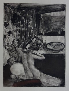 Intimate Bath - Etching, 1935