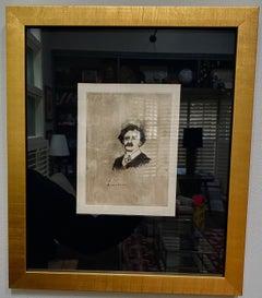 """""""Portrait of Virginie Cardinal's Favourite ActorActor Crochard"""""""