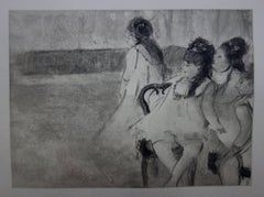 Whorehouse Scene : Prostitutes Dressed as Ballerinas - etching