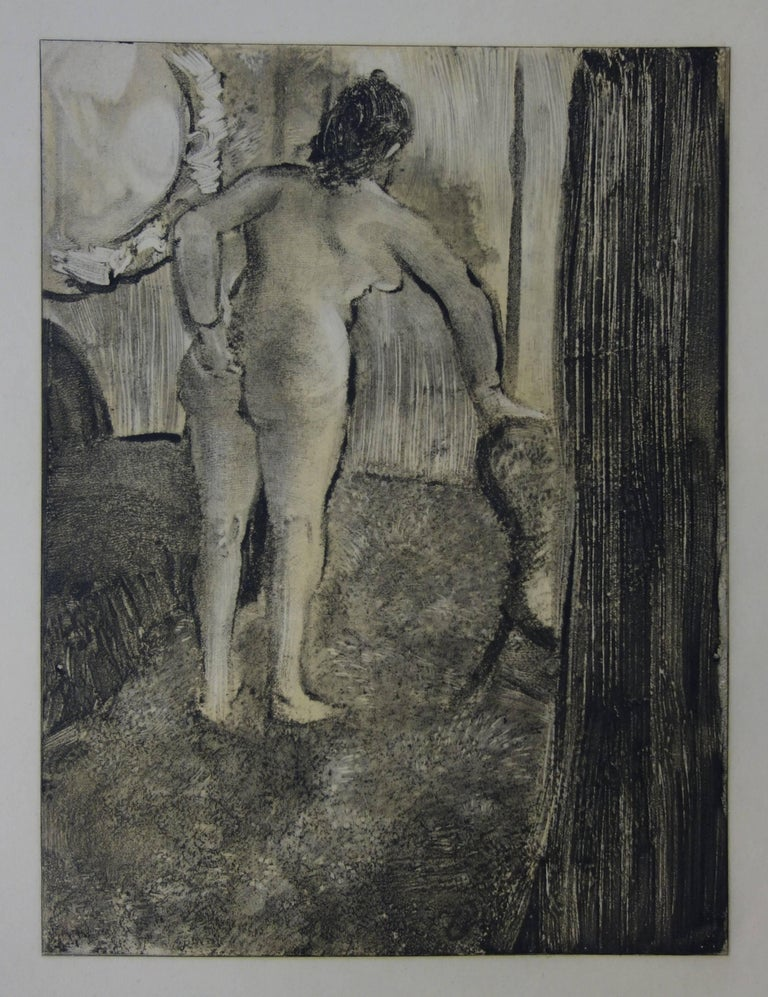 (after) Edgar Degas Figurative Print - Whorehouse Scene : Waking Up After a Long Love Night - Etching