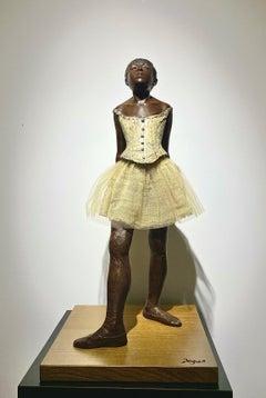 """Edgar Degas """"La Petite Danseuse de 14 ans"""" (The Little Fourteen-Year-Old Dancer)"""