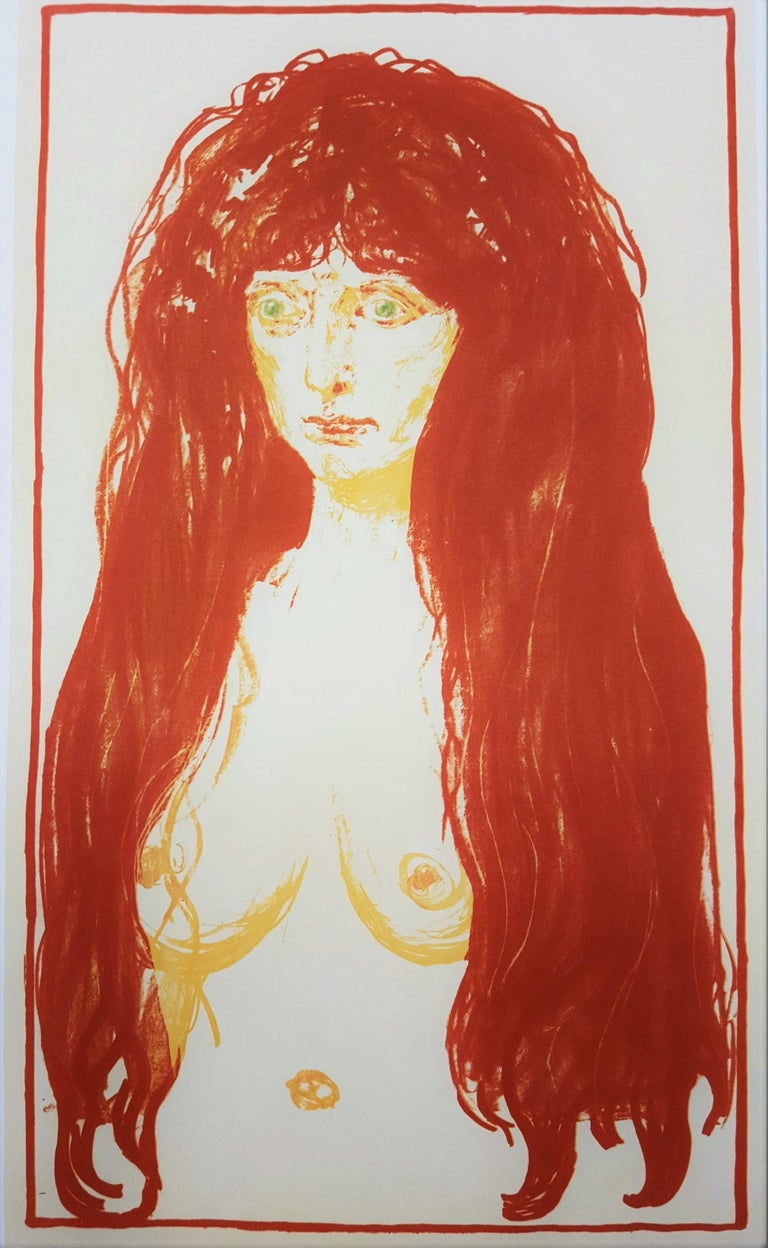 LACMA (The Sin) - Print by (After) Edvard Munch