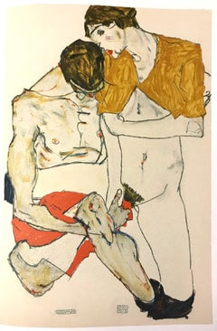 Lovers - 2000s - Lithograph - Modern Art