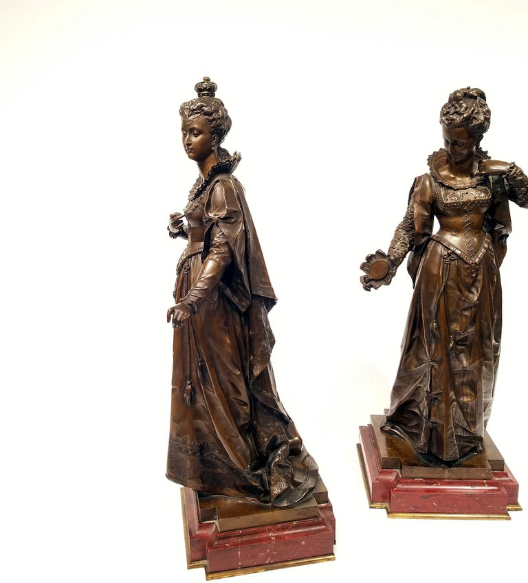 Patinated After Eutrope Bouret, French For Sale