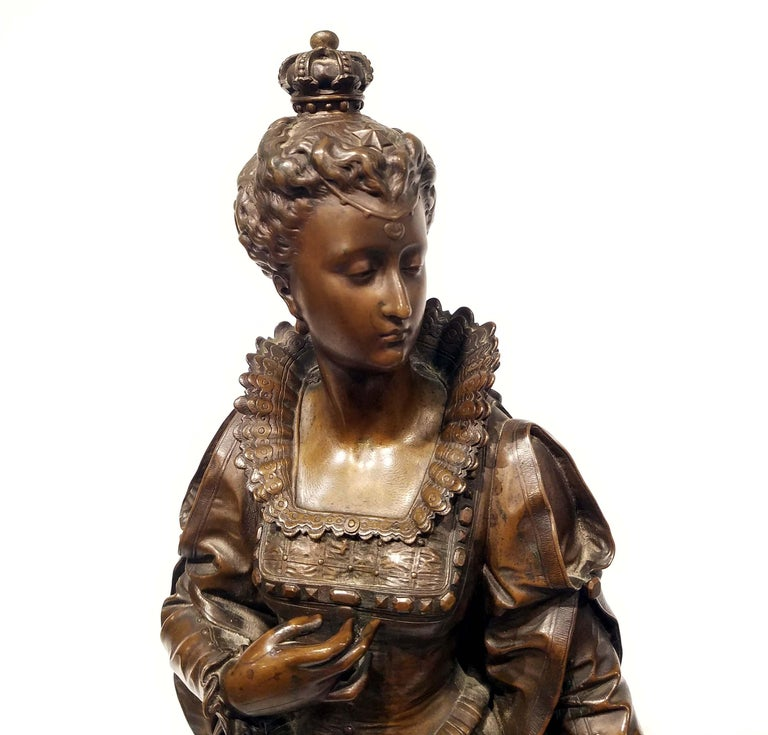 Bronze After Eutrope Bouret, French For Sale