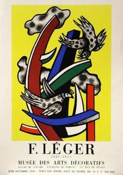 1881-1955, Musée des Arts Décoraties, Event Poster