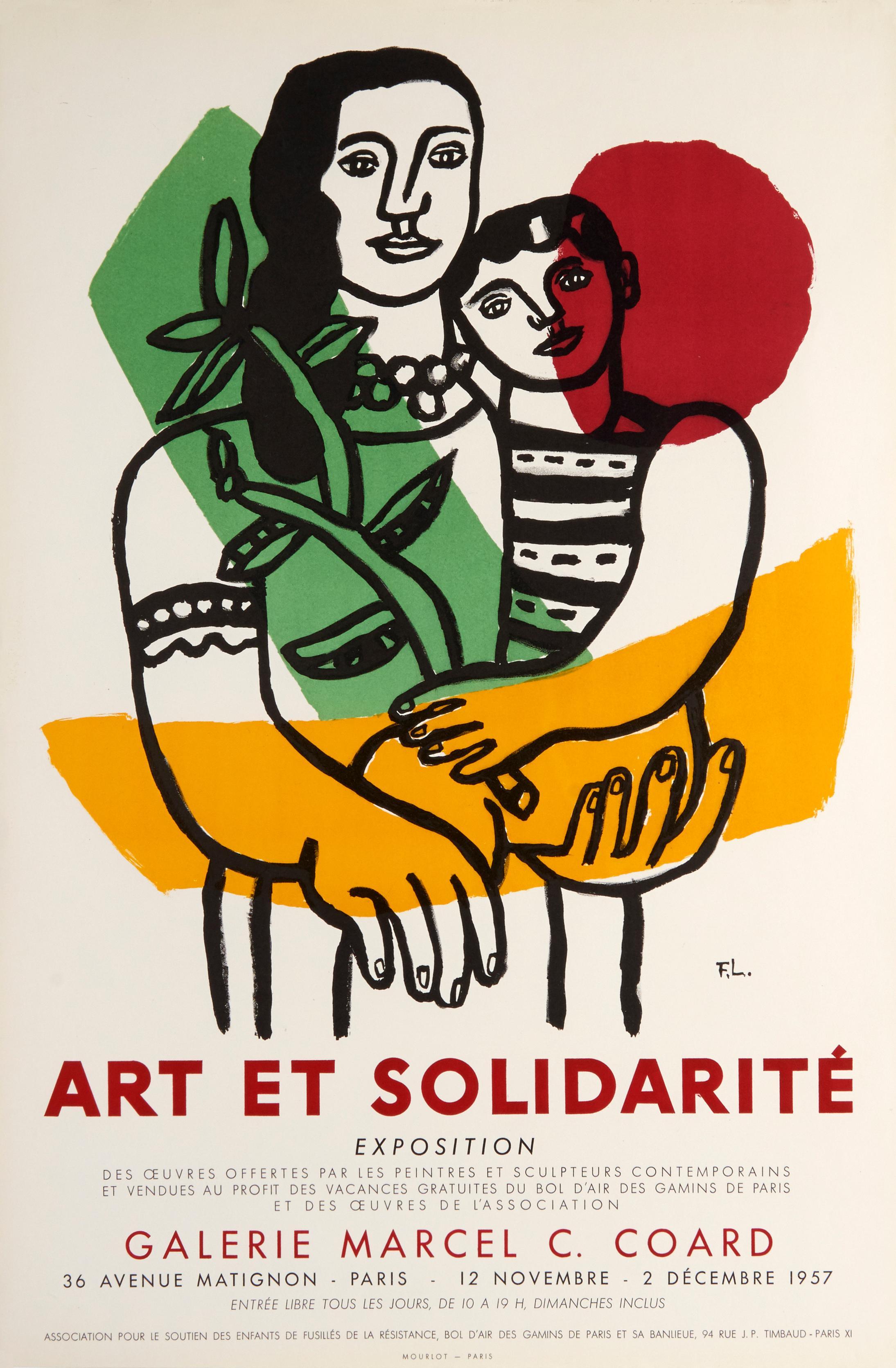 Art et Solidarité (art and solidarity) by Fernand Leger