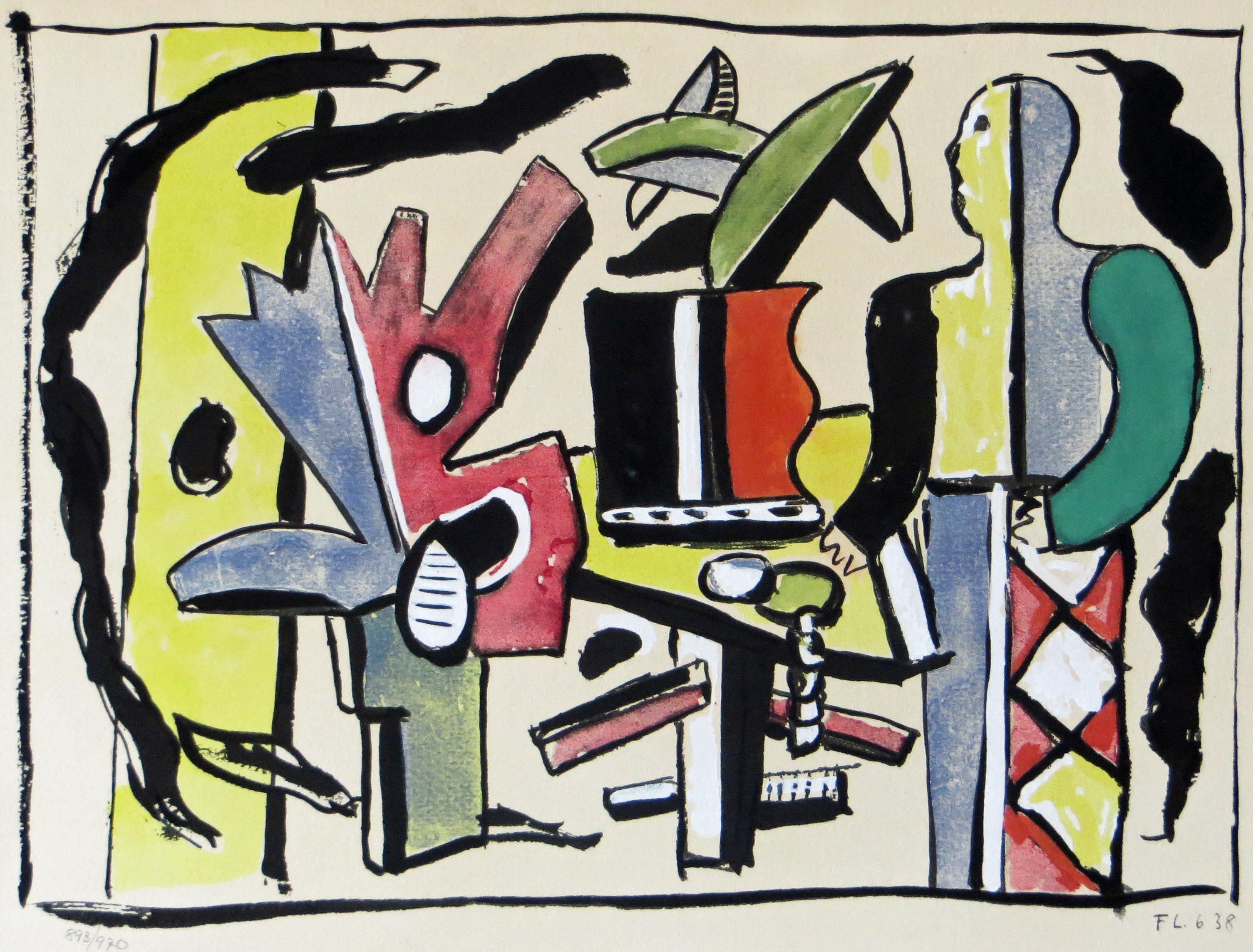 L'Artiste dans le Studio from Douze Contemporains