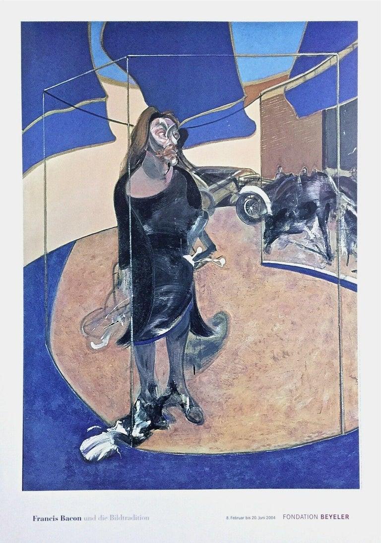 (after) Francis Bacon Figurative Print - Portrait Isabel Rawsthorne, 2003 Foundation Beyeler Exhibition Offset Lithograph