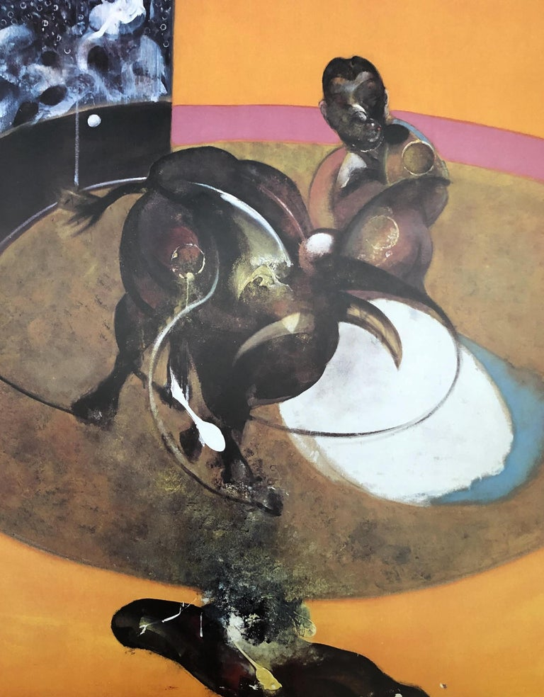 Study For a Corrida - Vintage Poster  - Print by (after) Francis Bacon
