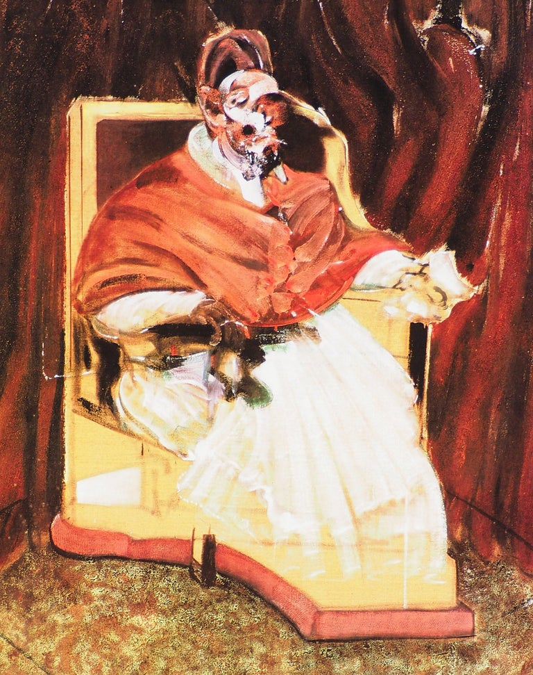The Pope - Vintage Poster  - Print by (after) Francis Bacon