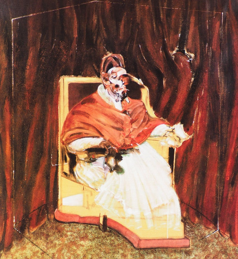 The Pope - Vintage Poster  - Modern Print by (after) Francis Bacon
