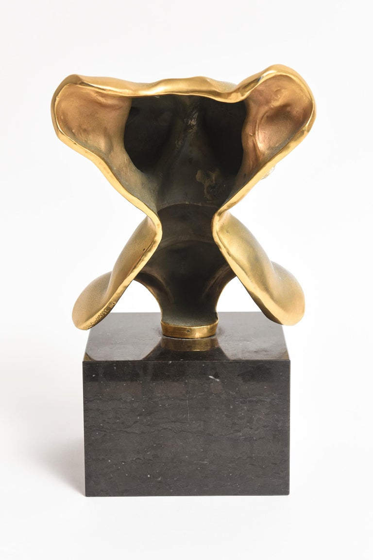 Late 20th Century After Gaston Lachaise Bronze Female Torso by Nelson Rockefeller Collection