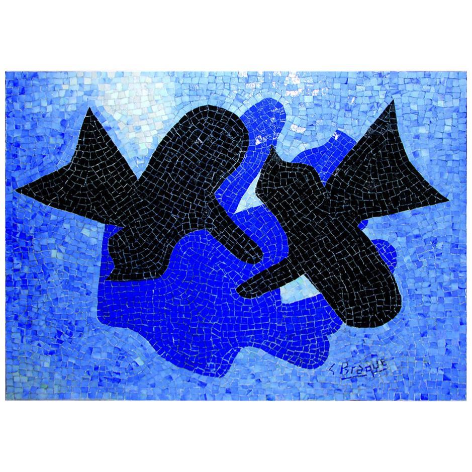 """After Georges Braque, Mosaïque, """"Pelias Et Nelee"""""""
