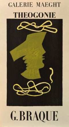 Galerie Maeght, Theogonie, Print featuring the work of Georges Braque