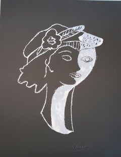 Persephata - after Georges Braque - Lithograph - 1988 - Figurative Print