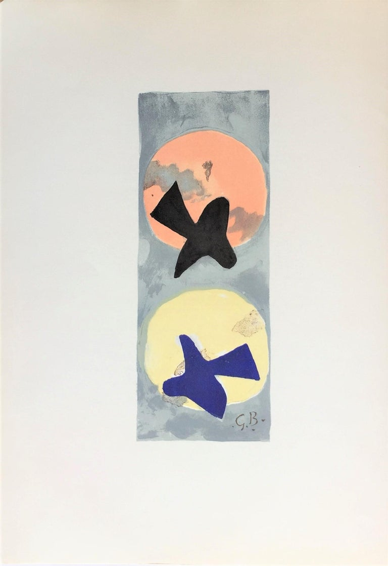 Soleil et lune II (Sun and Moon II) - Print by (after) Georges Braque