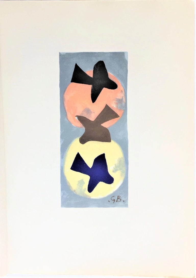 Soleil et lune  (Sun and Moon) - Print by (after) Georges Braque