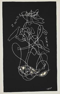 Zhelos - Original Lithograph After G. Braque - 1951
