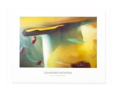 Abstraktes Bild, 1991, Hand Signed Poster, Abstract Art, Contemporary Artist