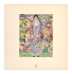 """Bildnis Friederike Maria Beer"" Gustav Klimt An Aftermath collotype, 1931"
