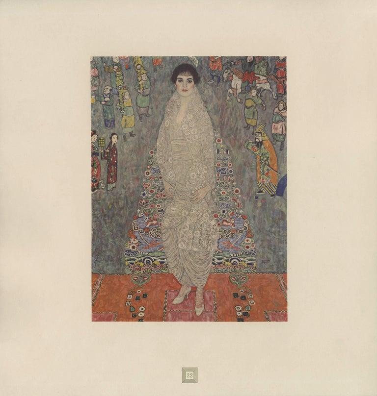 """Max Eisler Eine Nachlese folio """"Portrait of Baroness Bachofen-Echt"""" collotype"""