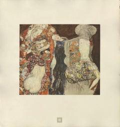 """Max Eisler Eine Nachlese folio """"The Bride"""" collotype print"""