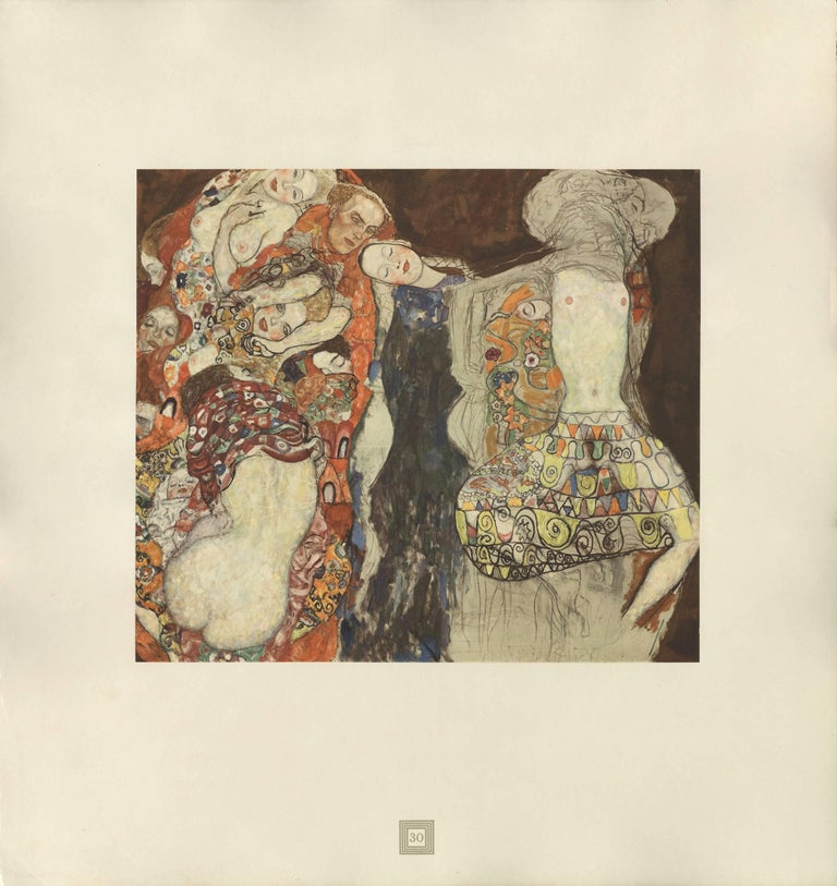 "Max Eisler Eine Nachlese folio ""The Bride"" collotype print"