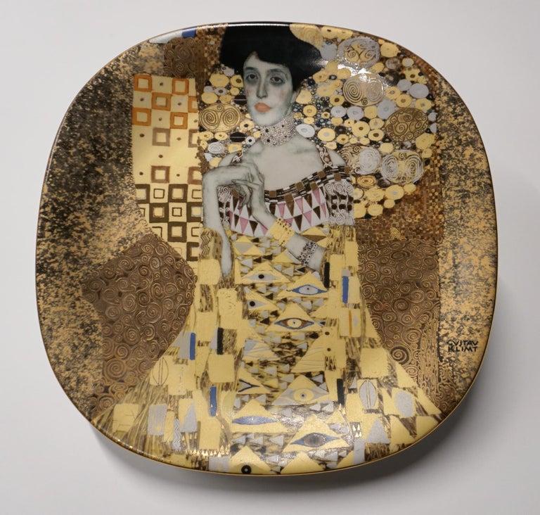 (after) Gustav Klimt Abstract Print - PORTRAIT OF ADELE BLOCH-BAUER plate