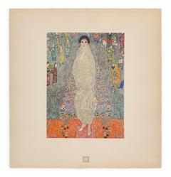 """Portrait of Baroness Bachofen-Echt"" Gustav Klimt An Aftermath collotype, 1931"
