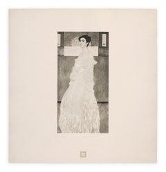 """""""Portrait of Baroness Wittgenstein"""" Gustav Klimt An Aftermath collotype, 1931"""