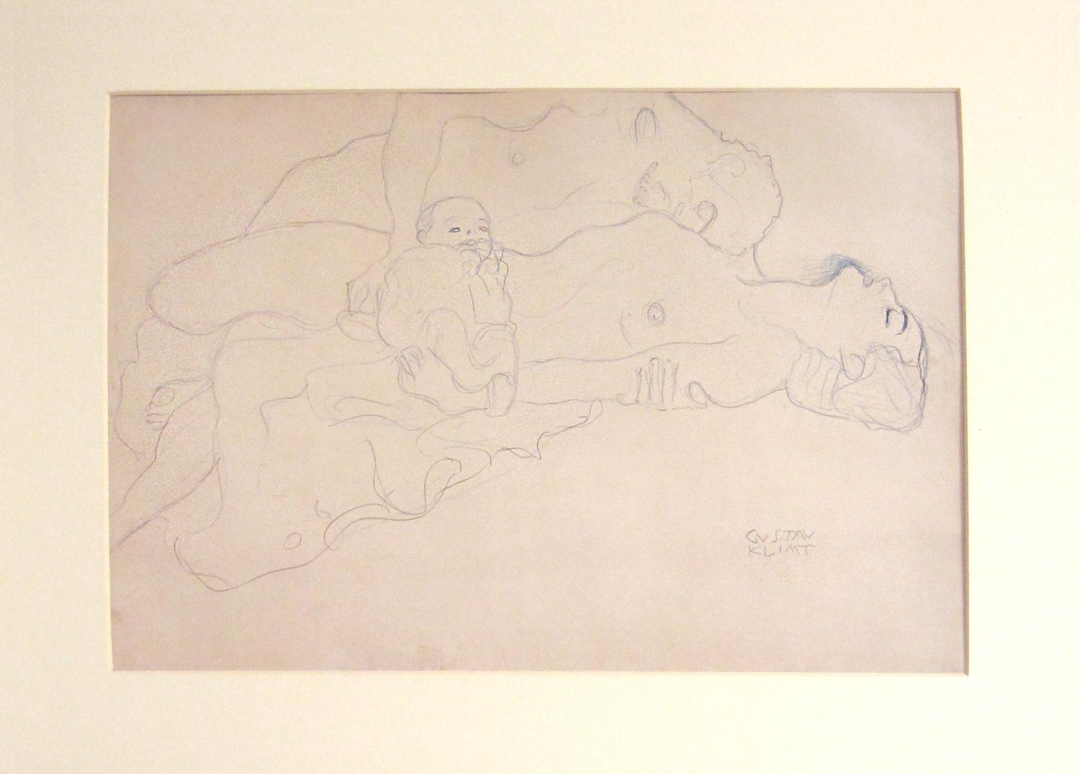 Untitled I.IV, Gustav Klimt