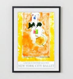 Solar Imp 2001, Lincoln Center New York City Ballet Honorary Silkscreen Poster